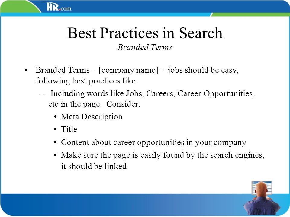 Best Practices in Search Branded Terms