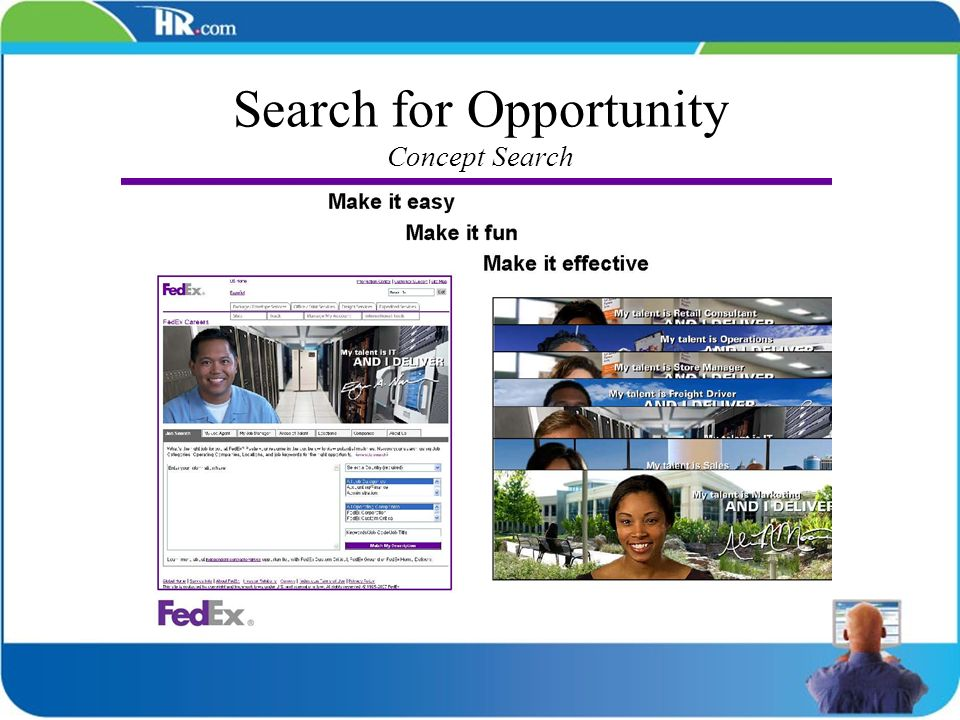 Search for Opportunity Concept Search