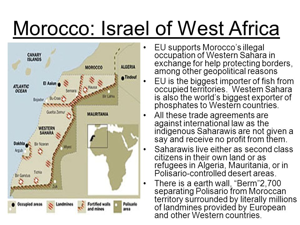 Morocco: Israel of West Africa