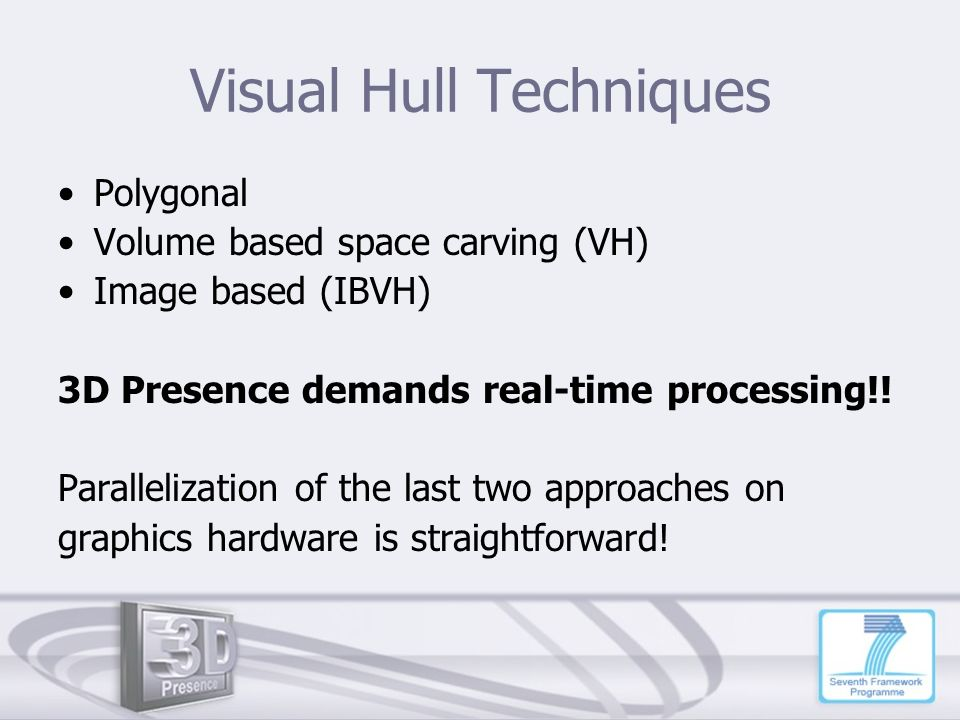 Visual Hull Techniques