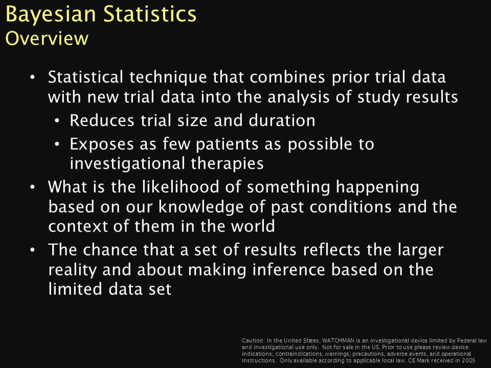 Bayesian Statistics Overview