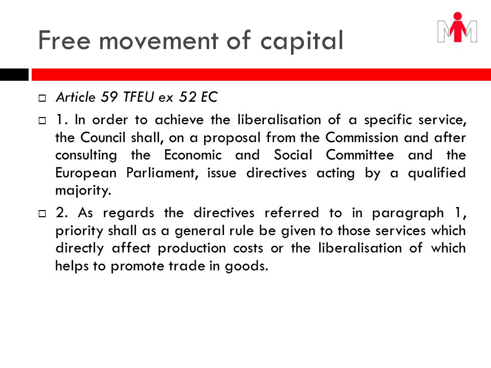 Free movement of capital
