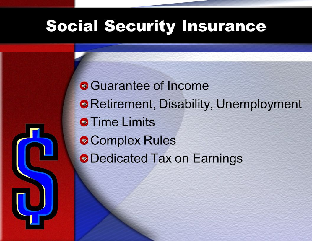 Social Security Insurance