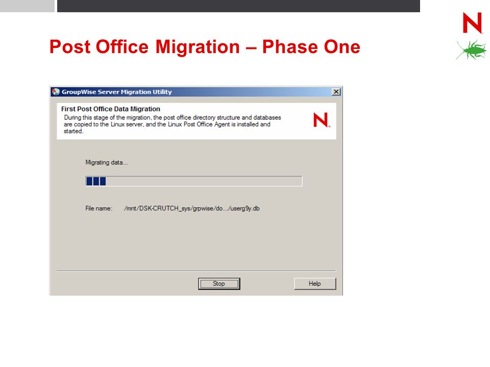 Post Office Migration – Phase One