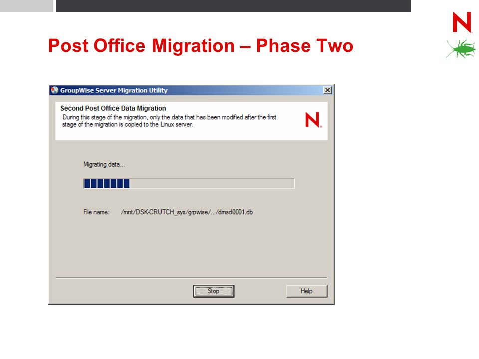 Post Office Migration – Phase Two