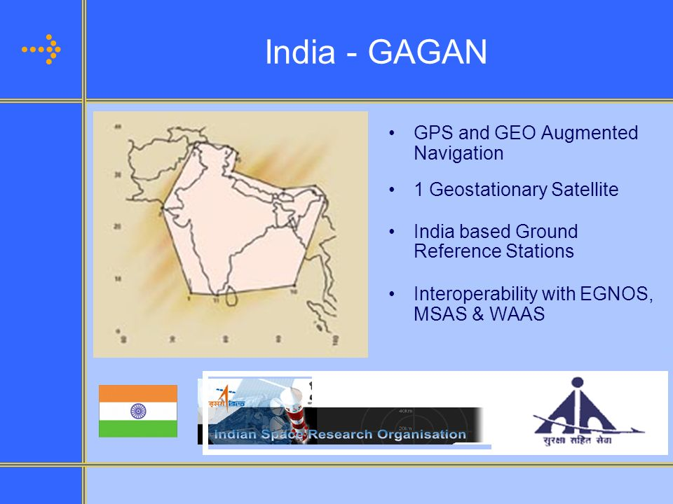 India - GAGAN GPS and GEO Augmented Navigation