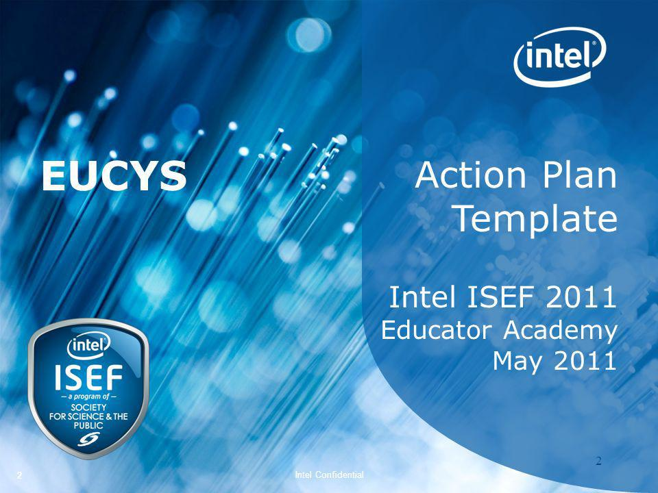 EUCYS Action Plan Template Intel ISEF 2011 Educator Academy May