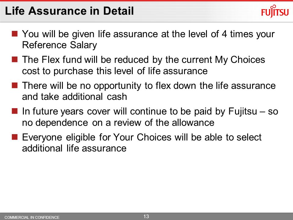 Life Assurance in Detail