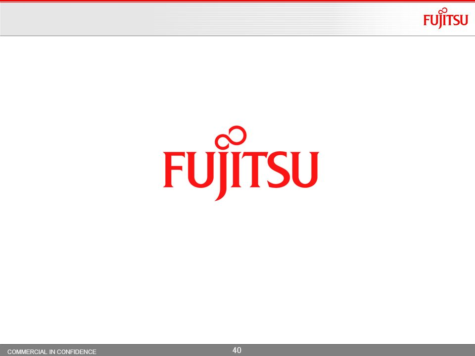 Copyright 2009 Fujitsu Services Limited