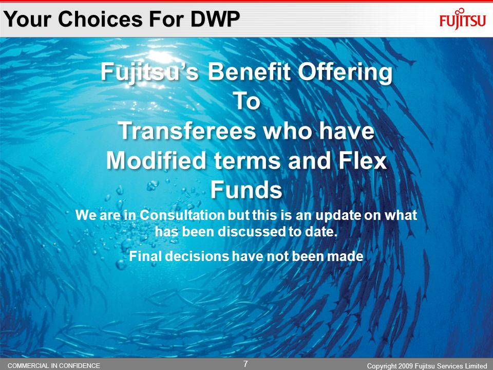 Fujitsu's Benefit Offering To