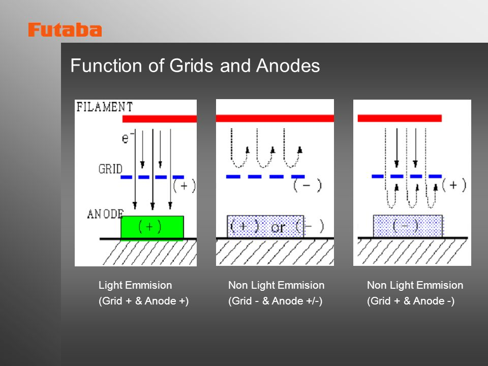 Function of Grids and Anodes