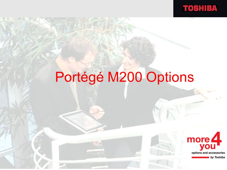 Portégé M200 Options