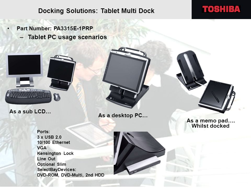 Docking Solutions: Tablet Multi Dock