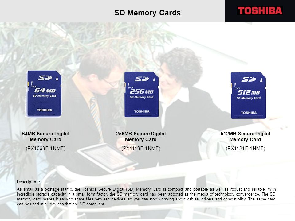 SD Memory Cards 64MB Secure Digital Memory Card (PX1063E-1NME)