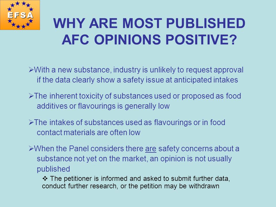 WHY ARE MOST PUBLISHED AFC OPINIONS POSITIVE