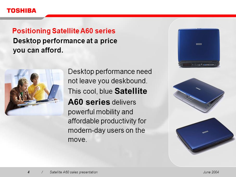 Positioning Satellite A60 series