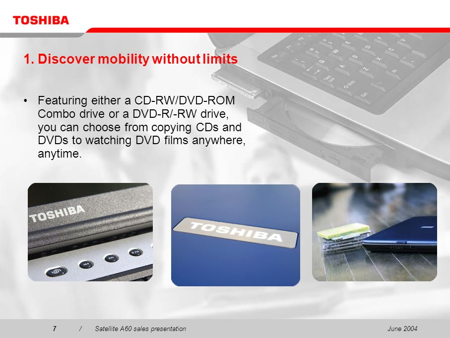 1. Discover mobility without limits