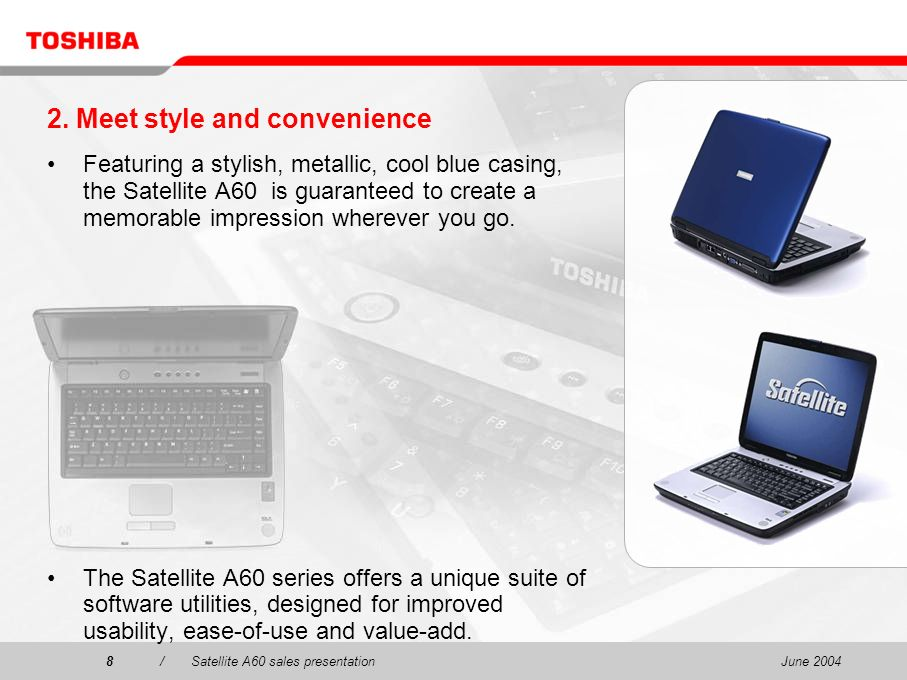 2. Meet style and convenience