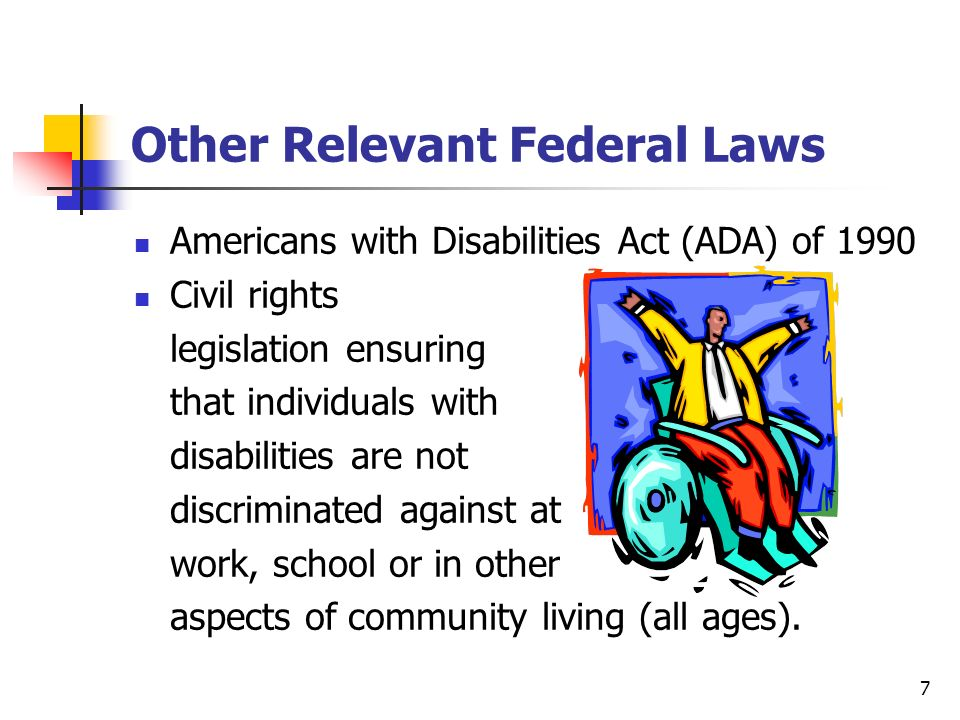 Other Relevant Federal Laws