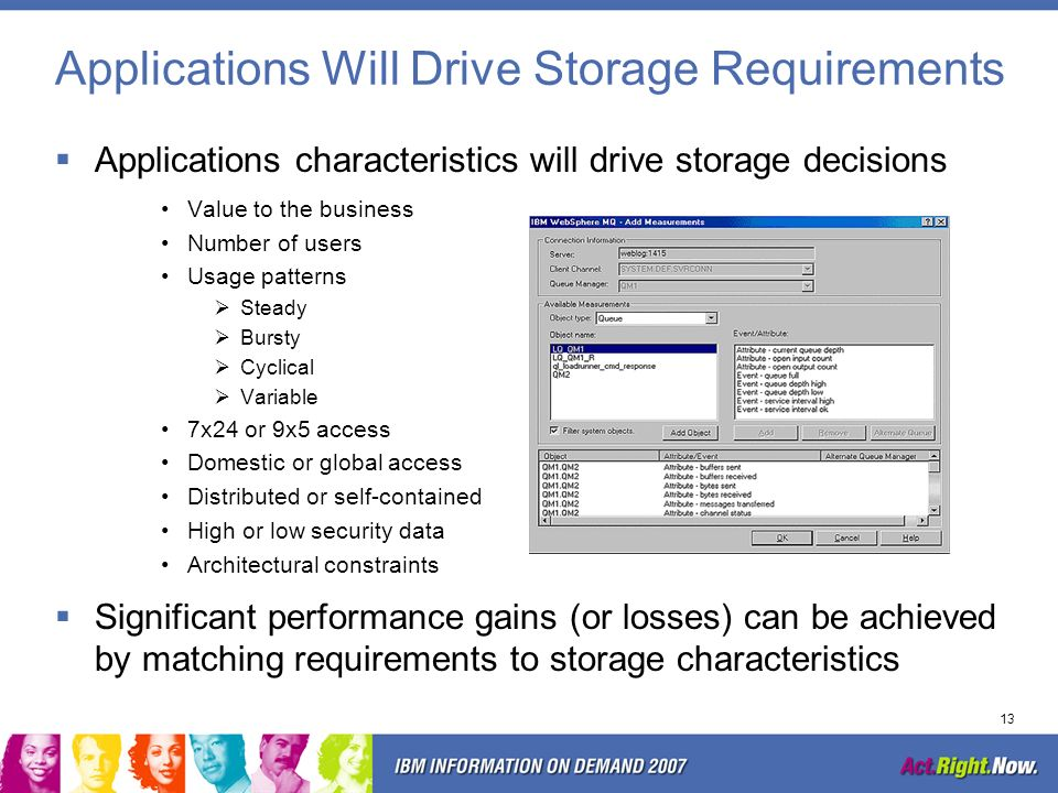 Applications Will Drive Storage Requirements