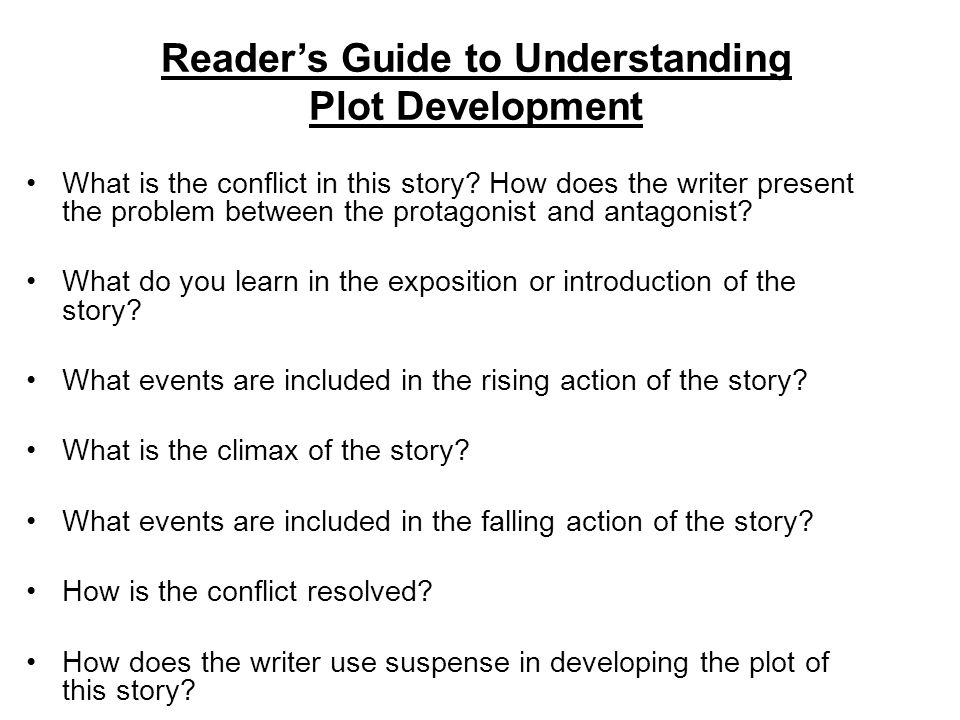Reader's Guide to Understanding