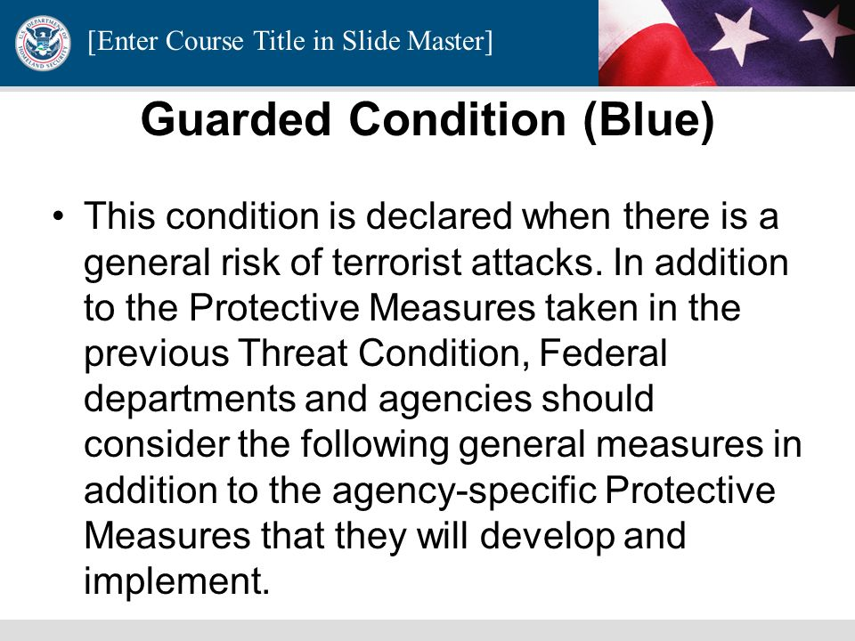 Guarded Condition (Blue)