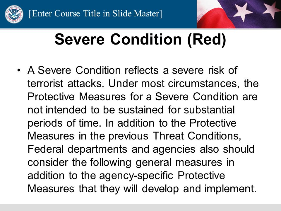Severe Condition (Red)