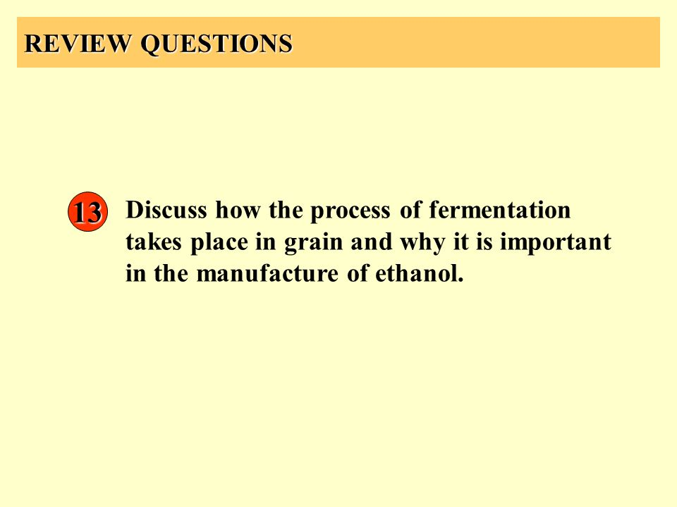 REVIEW QUESTIONS 13.