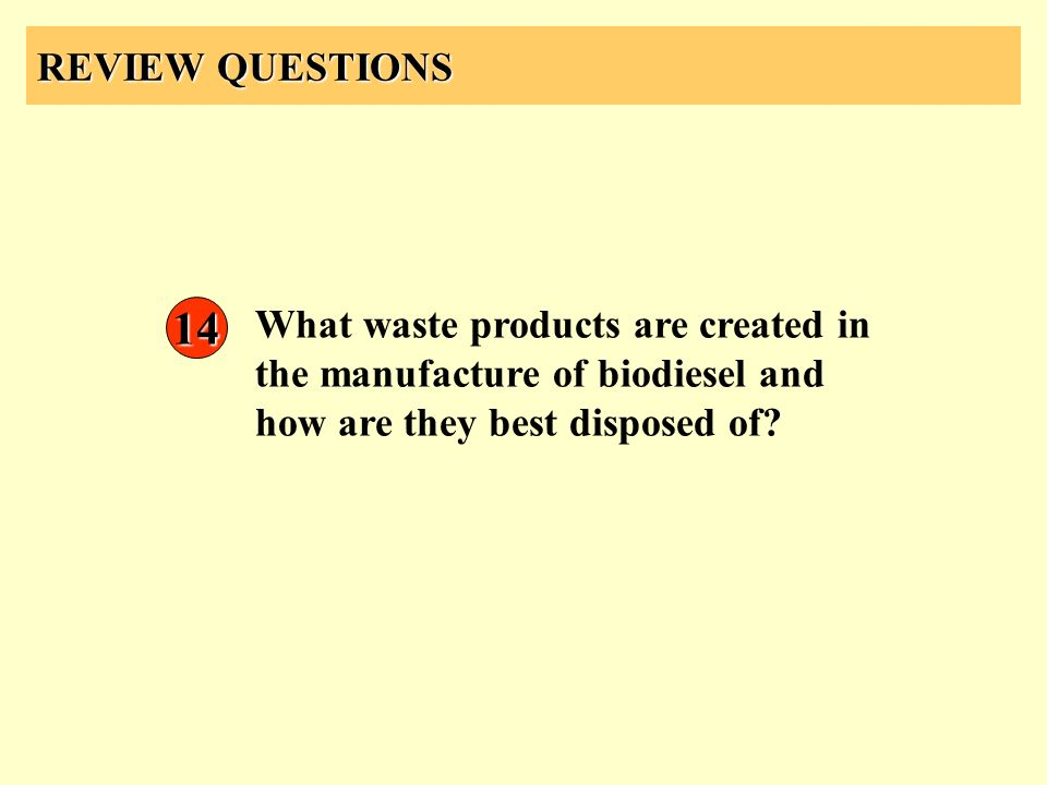 REVIEW QUESTIONS 14.