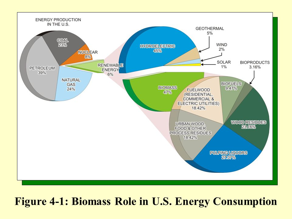 Figure 4-1: Biomass Role in U.S. Energy Consumption
