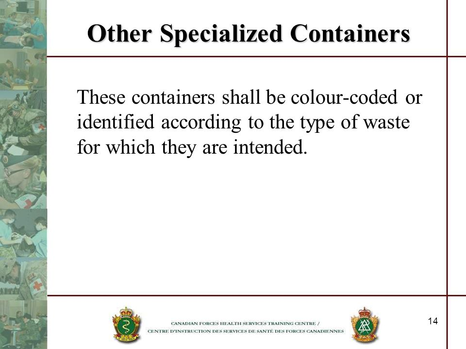 Other Specialized Containers