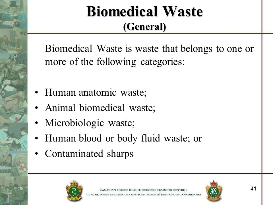 Biomedical Waste (General)
