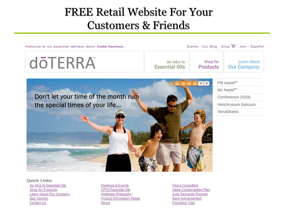 FREE Retail Website For Your