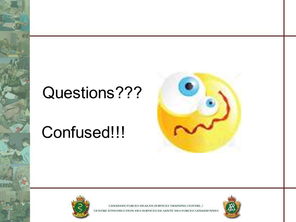 Questions Confused!!!