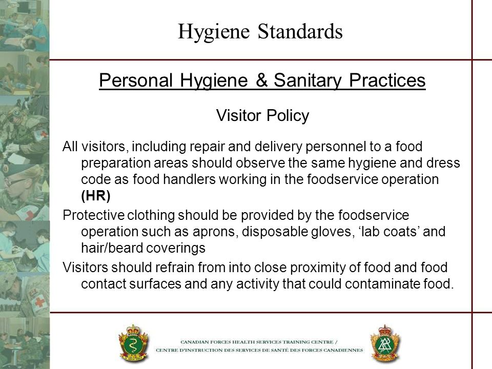 Inspect Food Service Facilities - ppt video online download