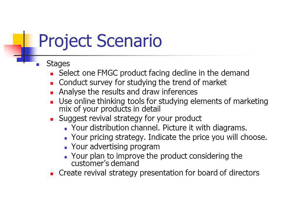 Project Scenario Stages