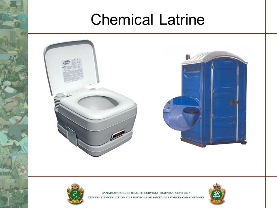 Chemical Latrine Become filled quickly.