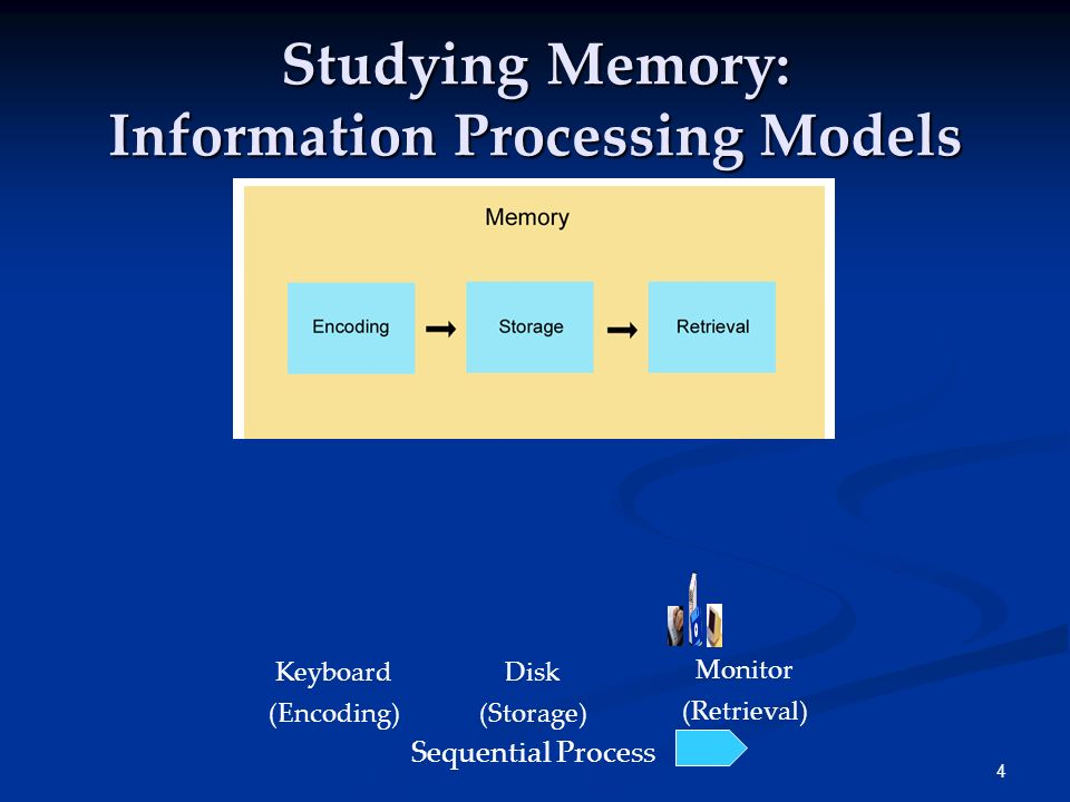 Studying Memory: Information Processing Models