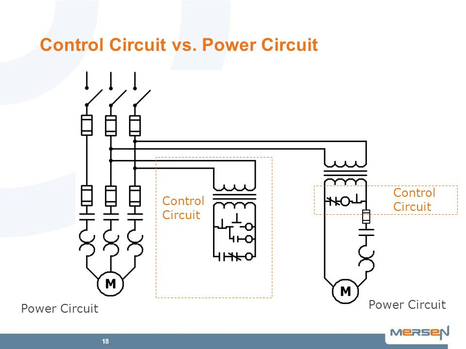 Control Circuit vs. Power Circuit