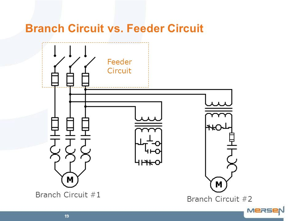 Branch Circuit vs. Feeder Circuit