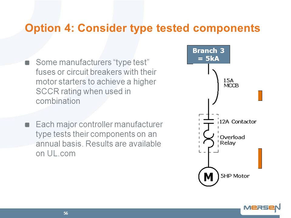 Option 4: Consider type tested components