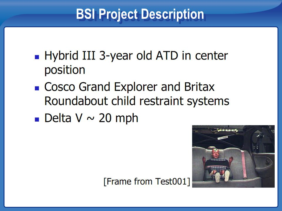 BSI Project Description
