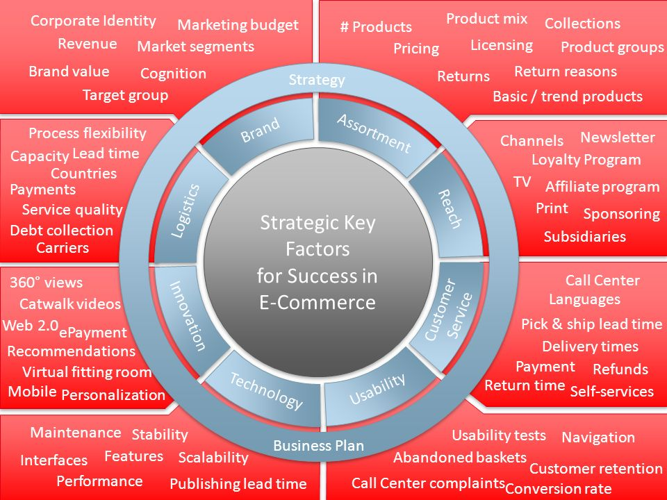 Strategic Key Factors for Success in E-Commerce