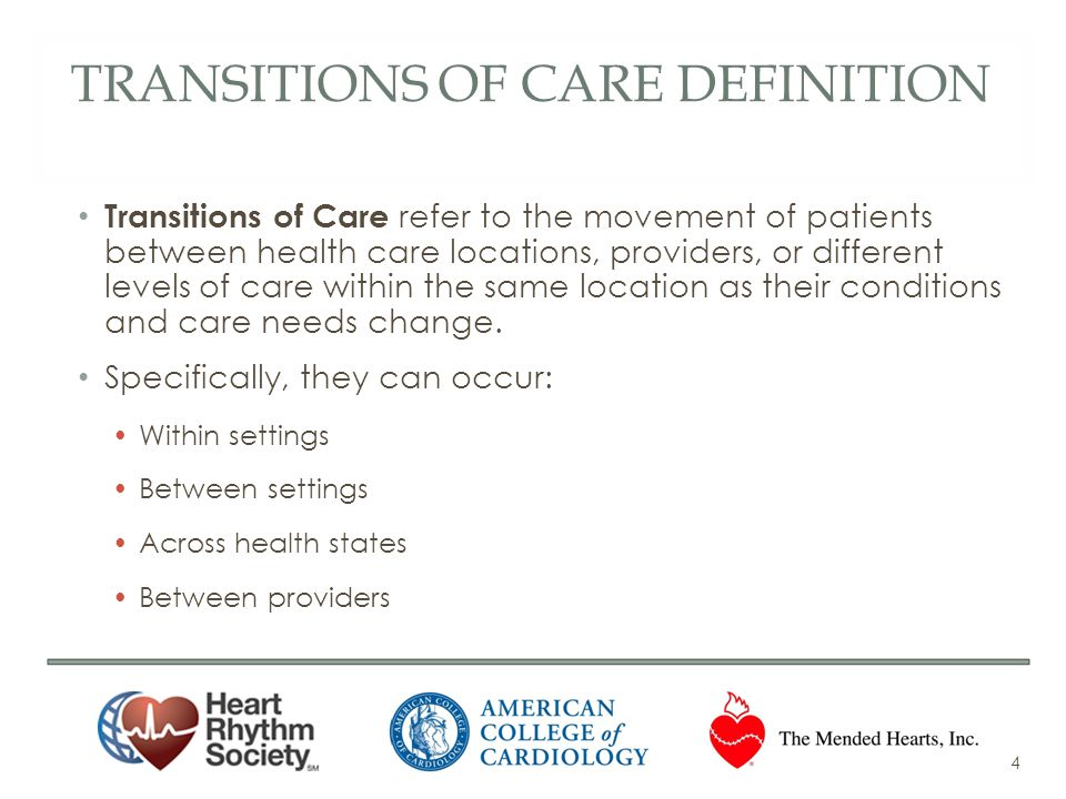 Transitions of Care Definition