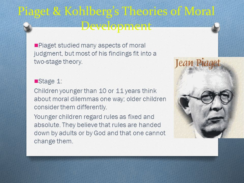 Piaget & Kohlberg's Theories of Moral Development