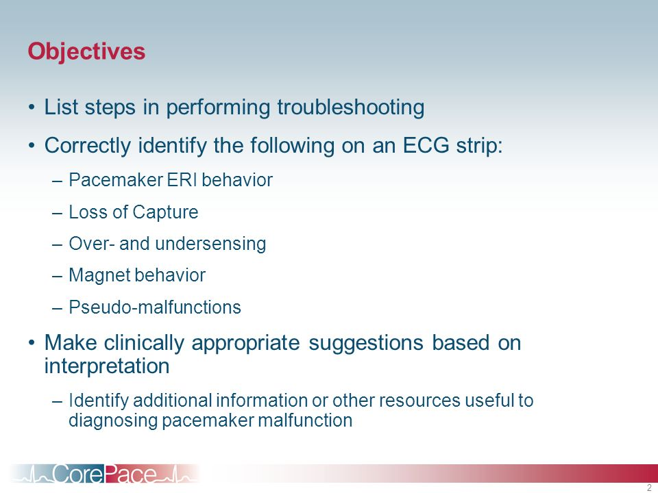 Objectives List steps in performing troubleshooting