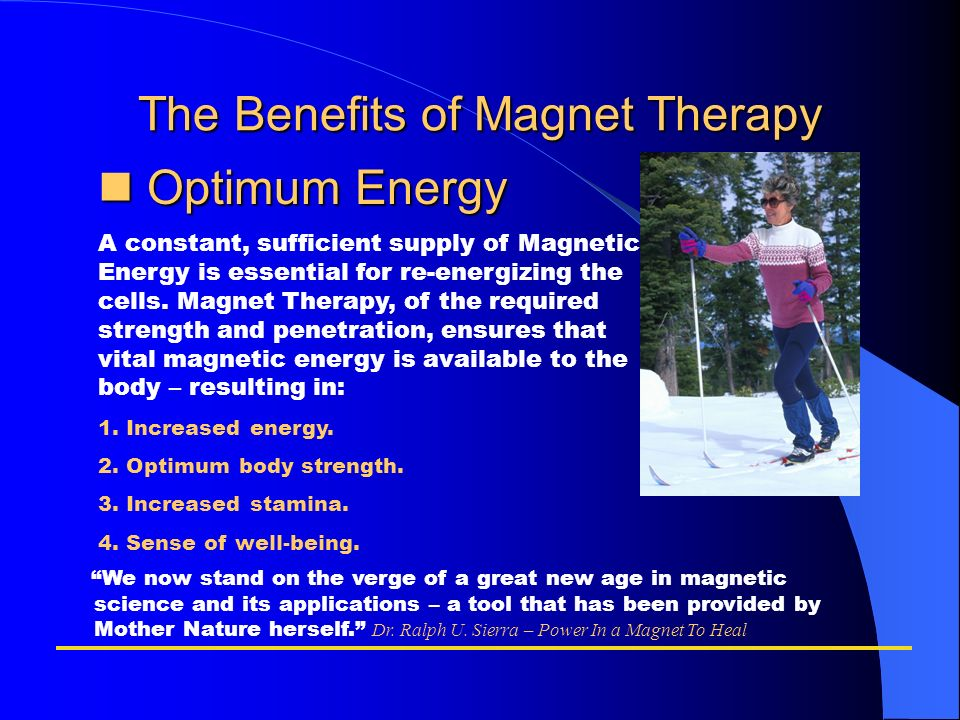 The Benefits of Magnet Therapy