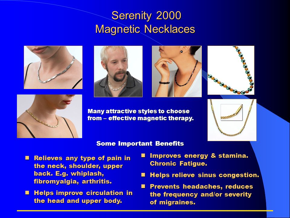 Serenity 2000 Magnetic Necklaces