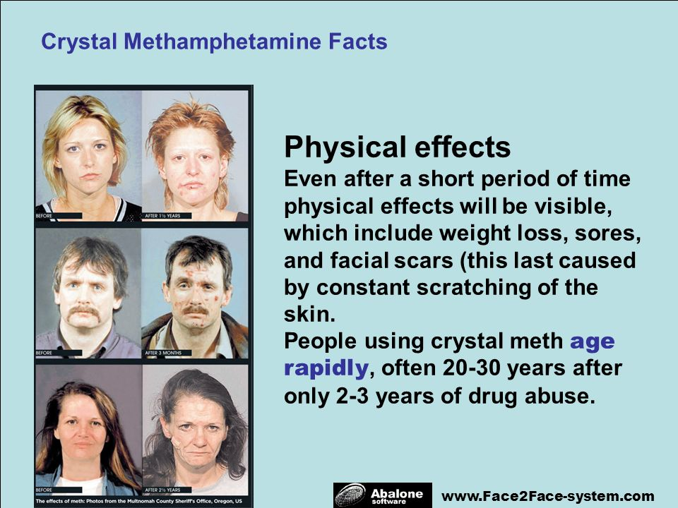 Everything you need to know about crystal meth