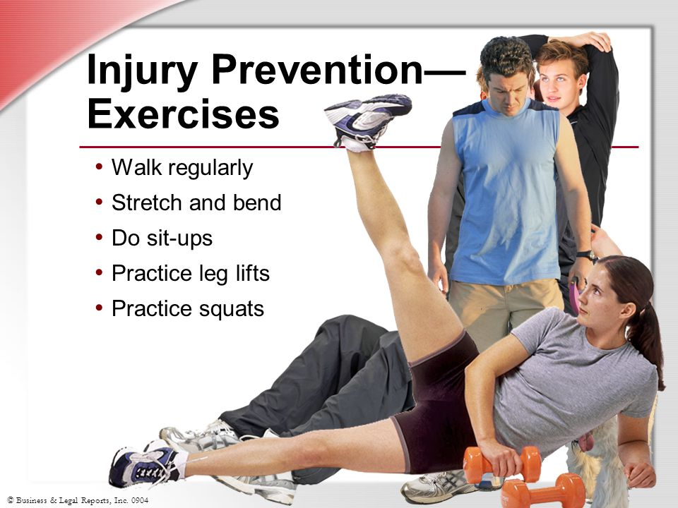 Injury Prevention— Exercises